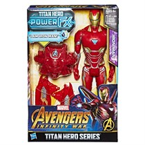 Hasbro Avengers Infinity War Titan Hero Power FX Iron Man Figür E0606
