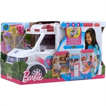 Mattel Barbie Barbienin Ambulansı FRM19