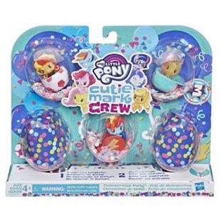 Hasbro My Little Pony Cutie Mark Crew Koleksiyon Seti E0193