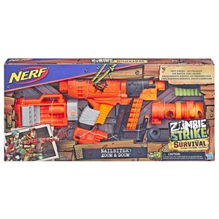 Hasbro Nerf Zombie Strike Nailbiter Zoom And Doom E6163