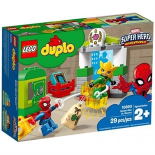 Lego Duplo Spiderman ve Electro 10893