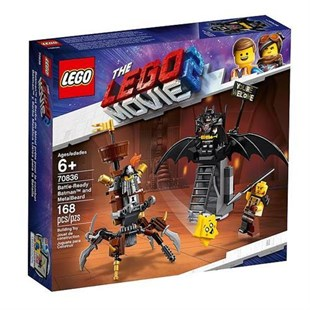 Lego Movie Savaşa Hazır Batman 70836