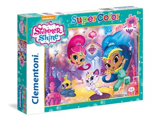 Clementoni Shimmer And Shine 60 Parça Supercolor Puzzle 26969