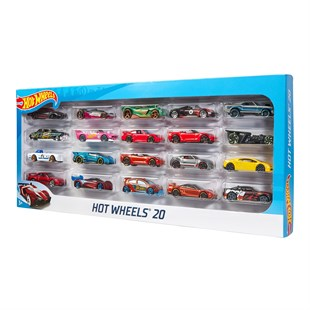 Mattel Hot Wheels Yirmili Araba Seti H7045